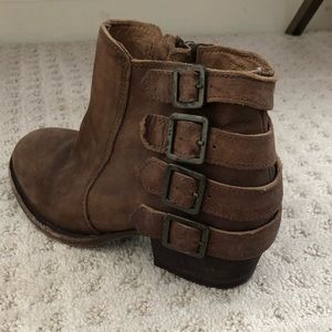 Shoes - Hudson London x Free People Buckle Ankle Boot